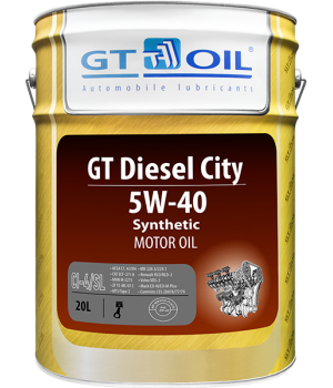 Моторное масло GT OIL GT Diesel City 5W-40, 20л
