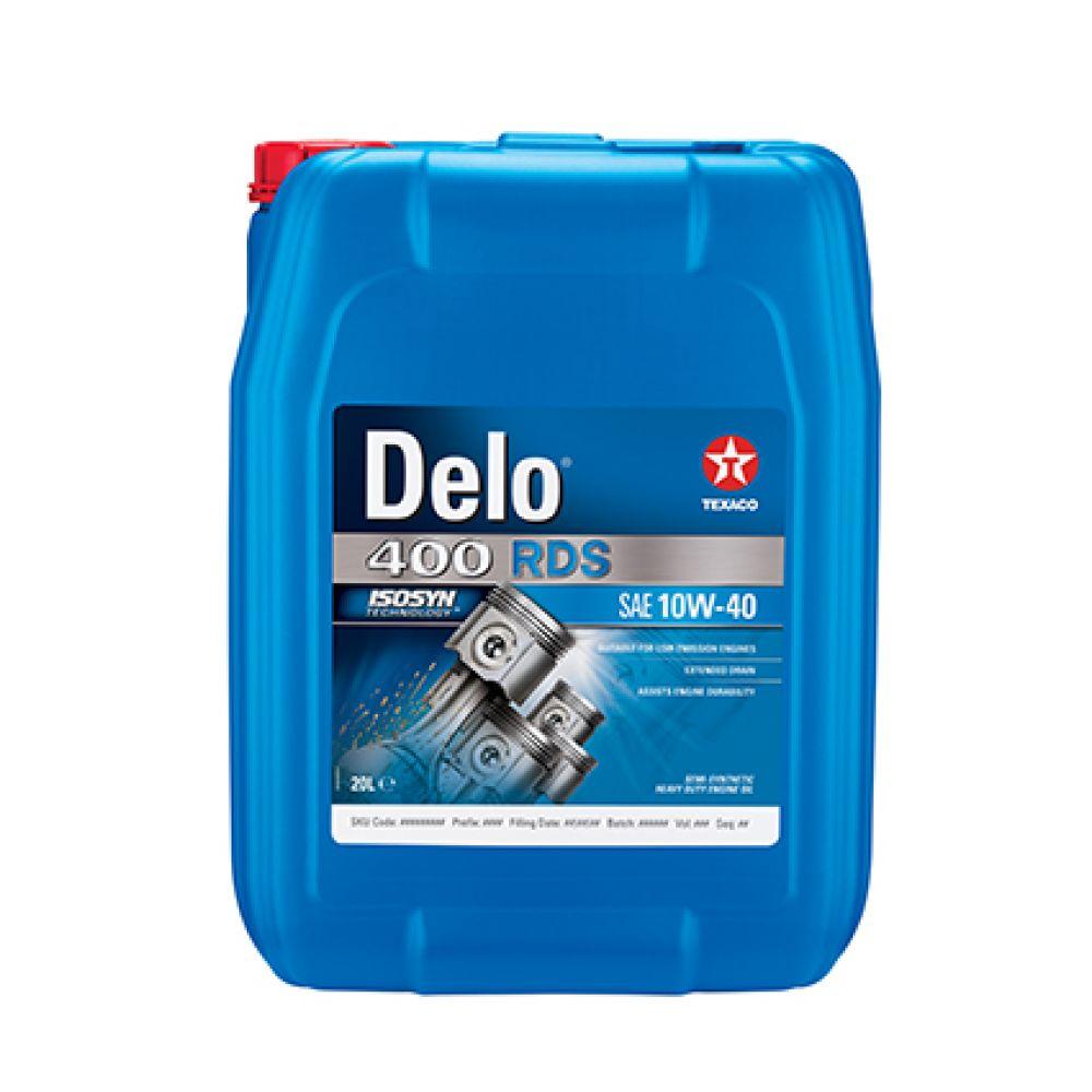 Моторное масло Texaco DELO 400 RDS 10W-40, 20л