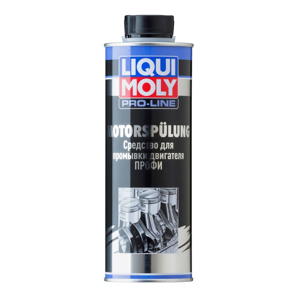 Средство для промывки двигателя Профи LIQUI MOLY Pro-Line Motorspulung, 0,5л