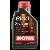 Моторное масло Motul 8100 X-clean EFE 5W-30, 1л