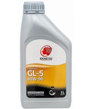 Трансмиссионное масло IDEMITSU Gear GL-5 80W-90, 1л