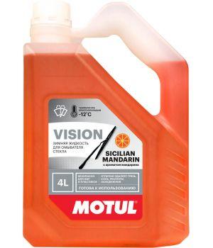 Стеклоомывающая жидкость Motul Sicilian Mandarin -12°C, 4л