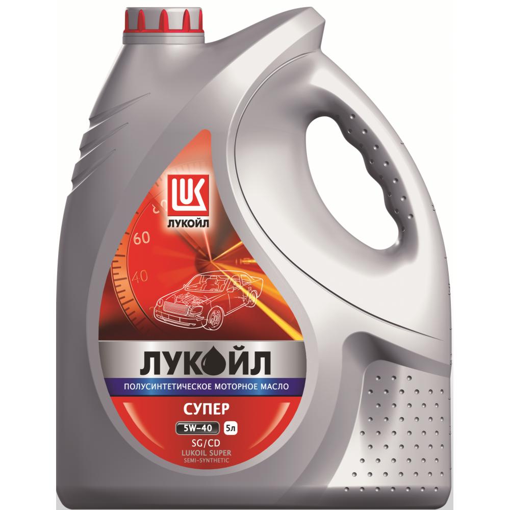 Моторное масло Лукойл Супер 5W-40, 5л