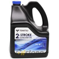 Моторное масло Tohatsu 2-Stroke Outboard Oil TC-W3, 3.78л