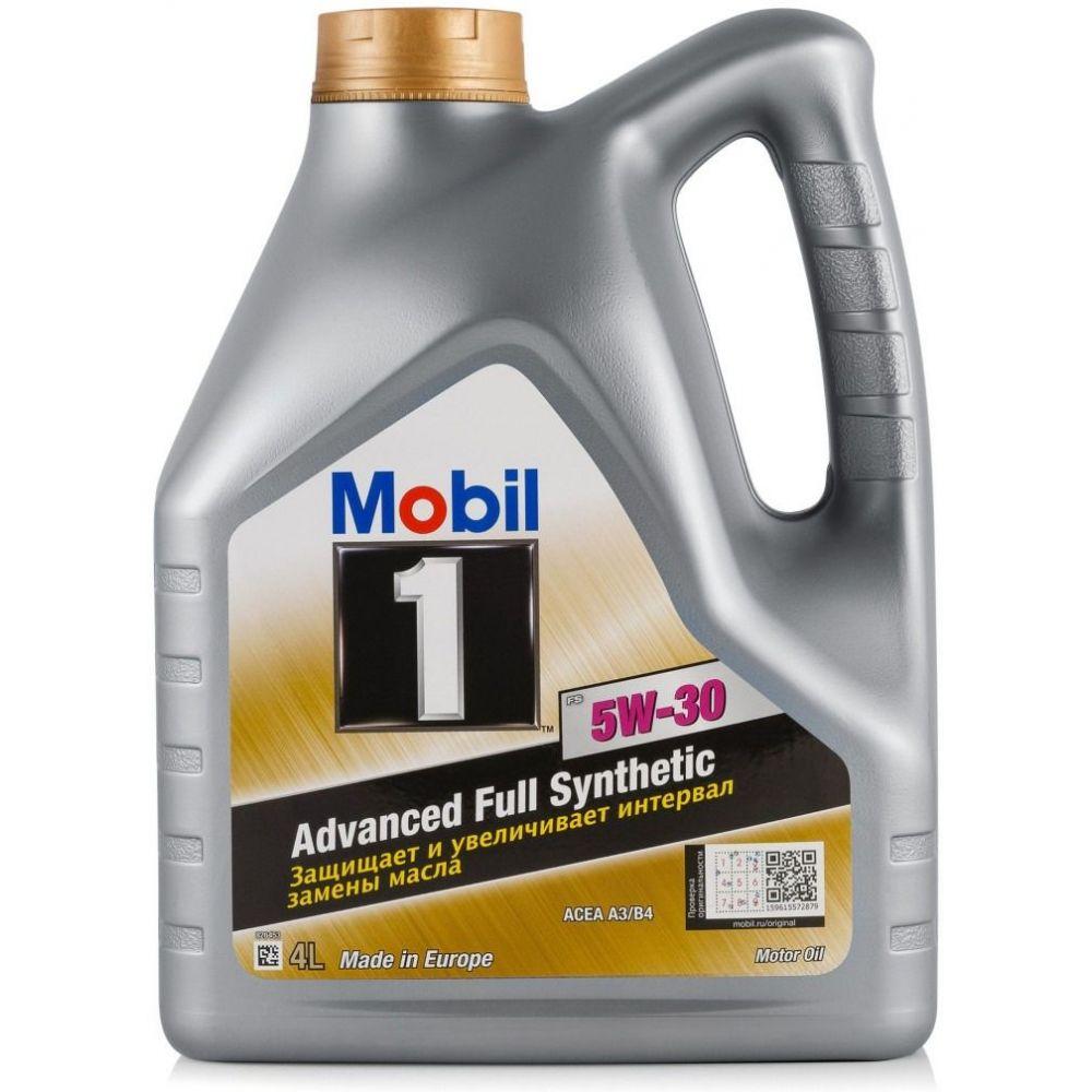 Моторное масло Mobil 1 FS 5W-30, 4л