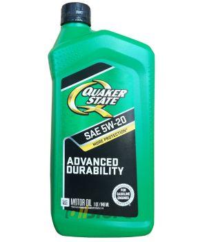 Моторное масло QUAKER STATE Advanced Durability SAE 5W-20 (0,946л)