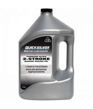 Моторное масло Quicksilver Premium Ultra 2-Cycle TC-W3, 4л