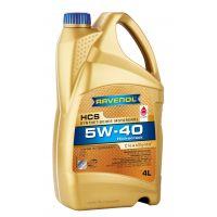 Моторное масло RAVENOL HCS SAE 5W-40 ( 4л) new