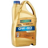 Моторное масло RAVENOL Super Synthetik Oel SSL SAE 0W-40, 4л