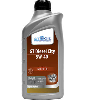Моторное масло GT OIL GT Diesel City 5W-40, 1л