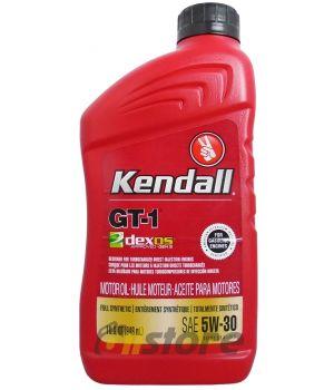 Моторное масло KENDALL GT-1 Dexos1 Motor Oil 5W-30, 0.946л