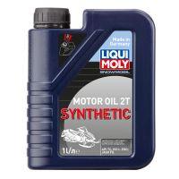 Моторное масло для снегоходов LIQUI MOLY Snowmobil Motoroil 2T Synthetic L-EGD, 1л