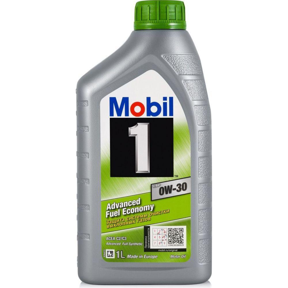 Моторное масло Mobil 1 ESP 0W-30, 1л