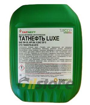 Моторное масло Татнефть LUXE SN/SM 5W-30, 10л