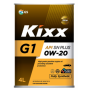 Моторное масло Kixx G1 SN Plus 0W-20, 4л