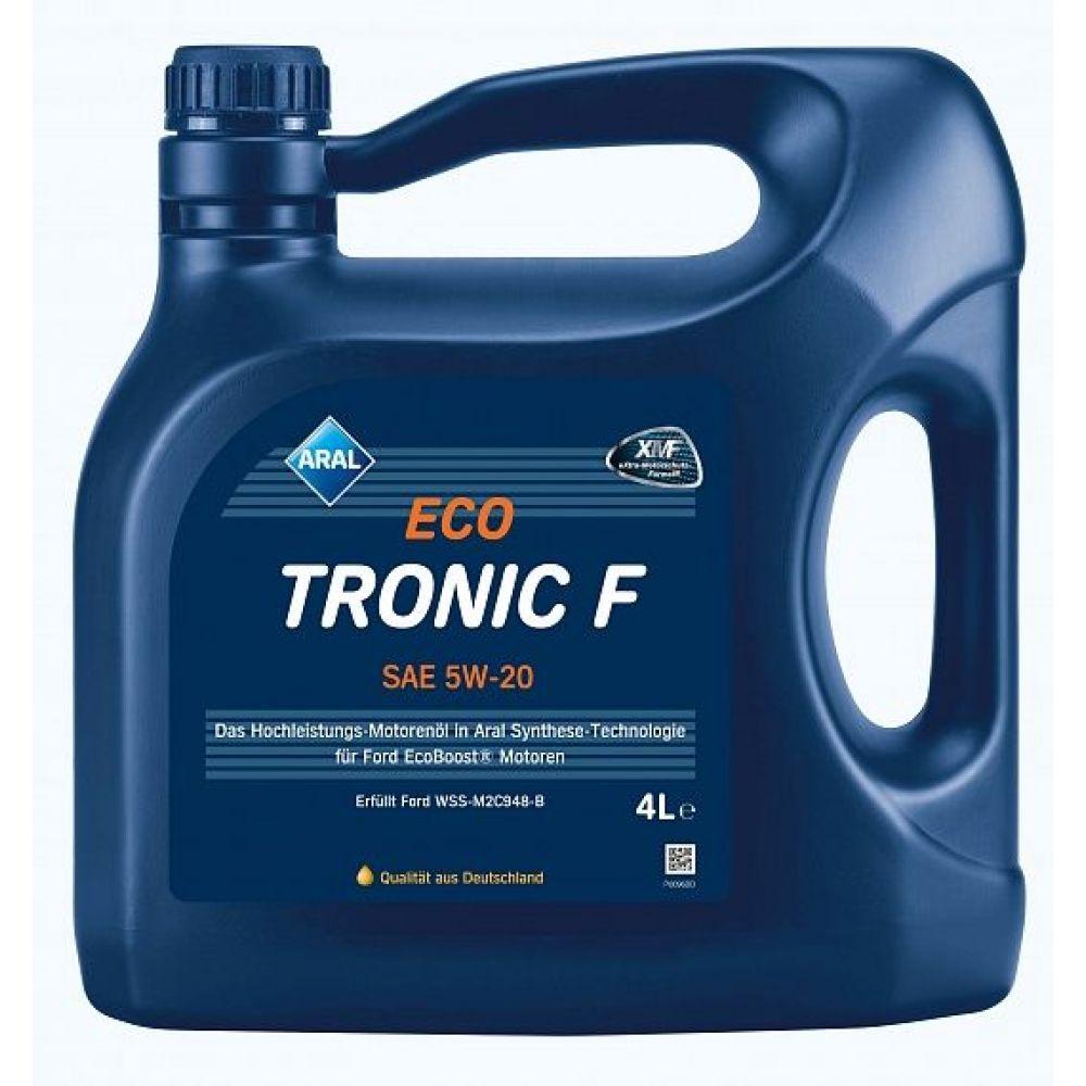 Моторное масло ARAL Eco Tronic F 5W-20, 4л