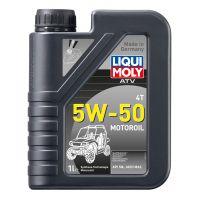 Моторное масло для 4-тактных мотоциклов LIQUI MOLY НС ATV 4T Motoroil 5W-50, 1л