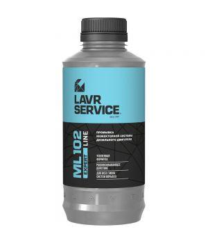 Промывка для дизельных двигателей LAVR ML102 Expert line Ln3523, 1000мл
