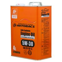 Моторное масло AUTOBACS Fully Synthetic 5W-30 SN/CF/GF-5, 4л