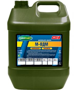 Моторное масло OILRIGHT М-8ДМ, 20л