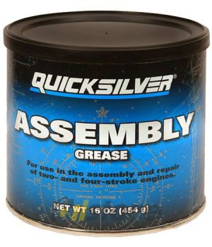 Смазка для узлов двигателя Quicksilver Assembly Grease, 454гр.