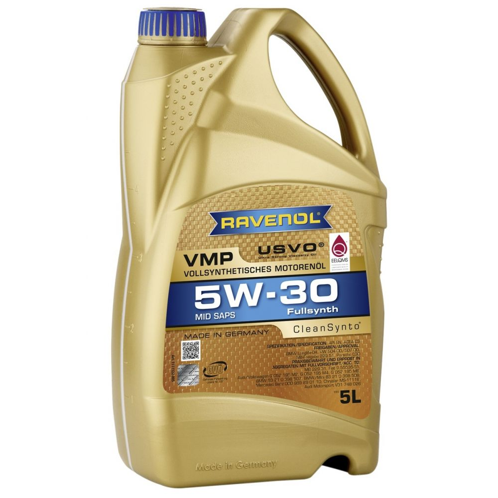 Моторное масло RAVENOL VMP SAE 5W-30, 5л