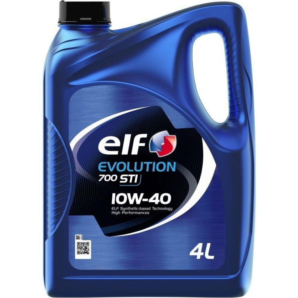 Моторное масло ELF Evolution 700 Turbo Diesel 10W-40, 4л