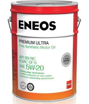 Моторное масло ENEOS Premium Ultra 5W-20, 20л