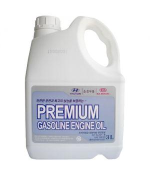 Моторное масло HYUNDAI Premium Gasoline SAE 5W-20 SL/GF-3 (3л)