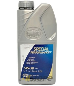 Моторное масло Pentosin Pento Special Perfomance F 5W-30, 1л