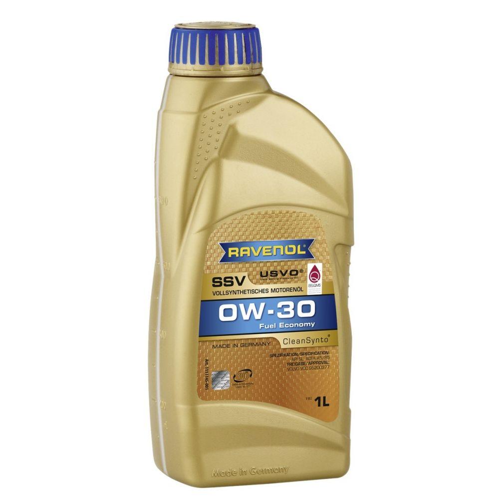 Моторное масло RAVENOL SSV Fuel Economy SAE 0W-30, 1л
