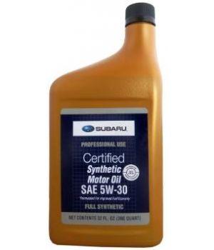 Моторное масло SUBARU Synthetic SAE 5W-30 (0.946л)