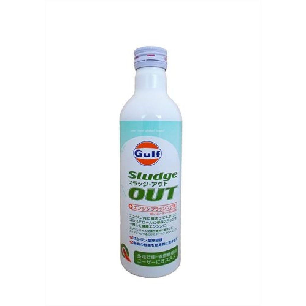 Присадка-очиститель в моторное масло GULF Sludge OUT (0,3л)