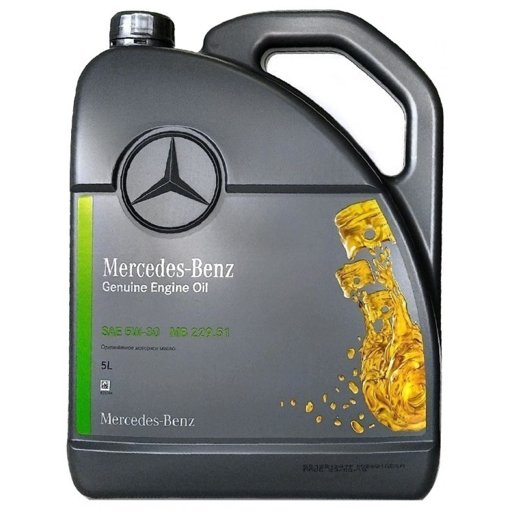 Моторное масло Mercedes-Benz MB 229.51 5W-30, 5л