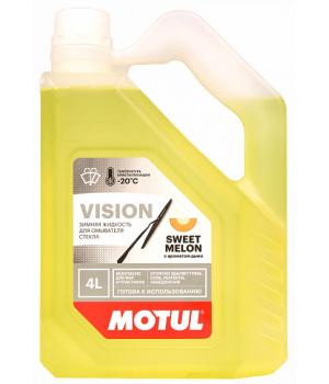 Стеклоомывающая жидкость Motul Vision Sweet Melon -20°C, 4л