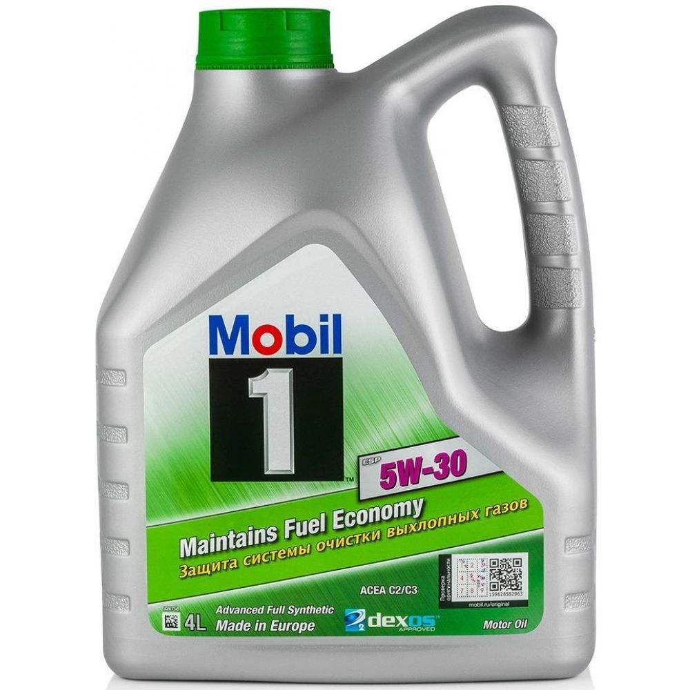 Моторное масло MOBIL 1 ESP Formula 5W-30, 4л