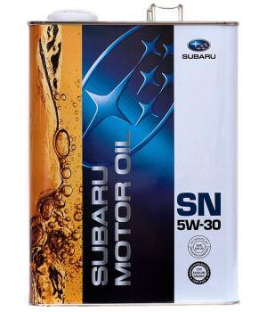 Моторное масло Subaru Motor Oil SN 5W-30, 4л