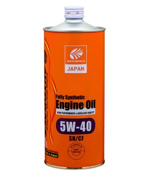 Масло моторное  AUTOBACS ENGINE OIL SYNTHETIC  5W-40, 1л
