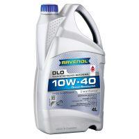 Моторное масло RAVENOL DLO 10W-40, 4л