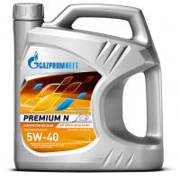 Моторное масло Gazpromneft Premium N 5W-40, 5л