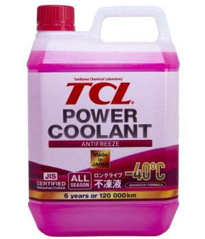 Антифриз TCL Power Coolant RED -40°C, 2л