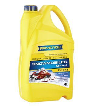 Масло для 2-Такт снегоходов RAVENOL Snowmobiles Mineral 2-Takt ( 4л) new