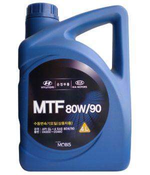 Трансмиссионное масло Hyundai/Kia MTF 80W-90 GL-4, 4л