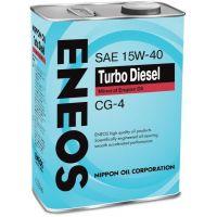 Моторное масло ENEOS Turbo Diesel 15W-40, 4л