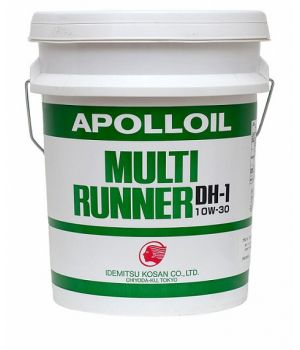 Моторное масло IDEMITSU Apolloil Multi Runner DH-1 10W-30, 20л