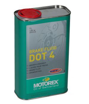 Тормозная жидкость MOTOREX BRAKE FLUID DOT 4, 1л