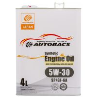 Моторное масло AUTOBACS Fully Synthetic 5W-30 SP/GF-6A, 4л
