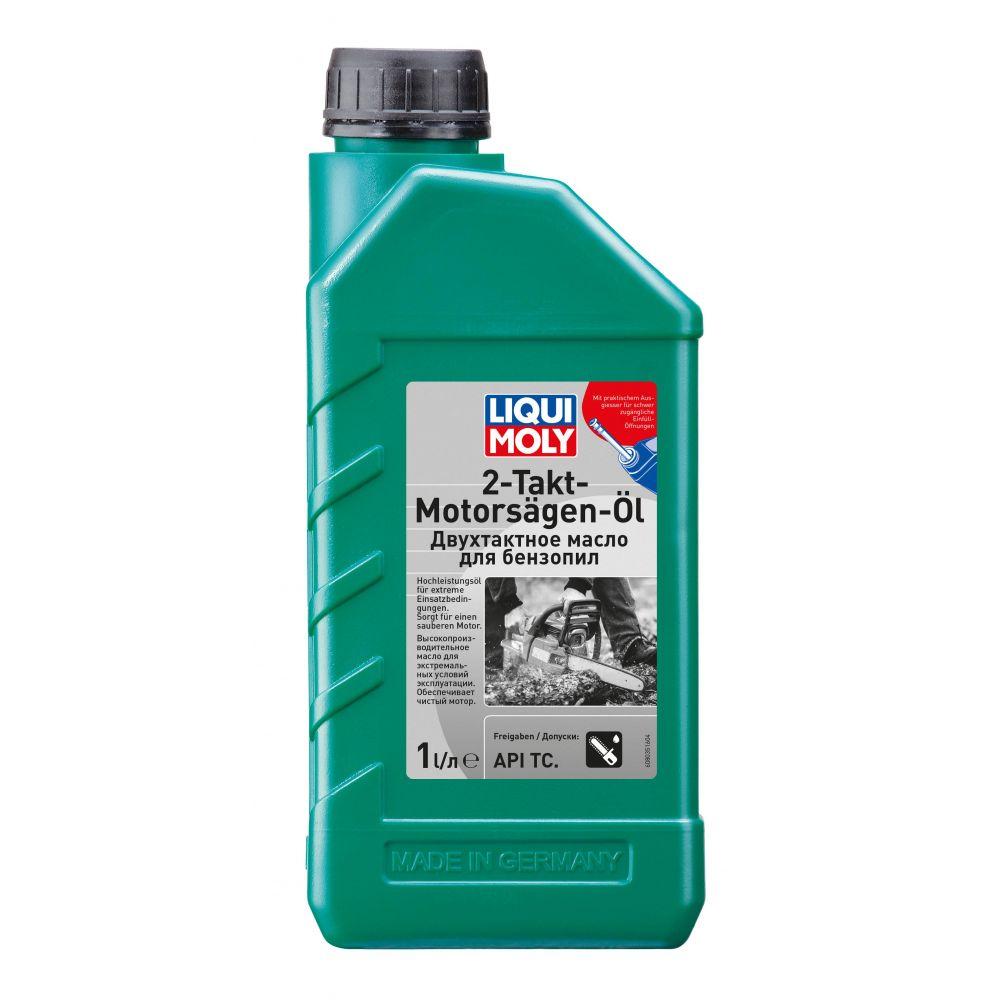 Моторное масло для 2-тактных бензопил и газонокосилок LIQUI MOLY 2-Takt-Motorsagen-Oil, 1л