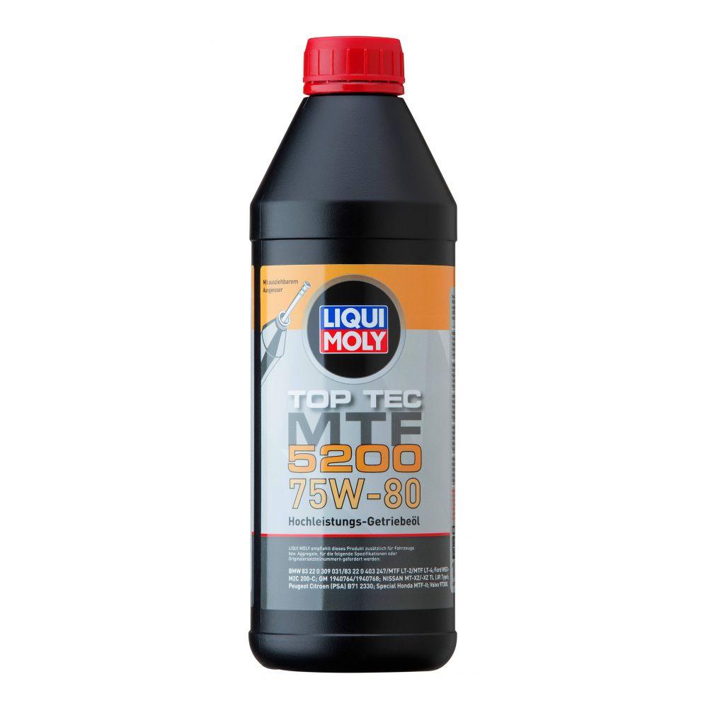 Трансмиссионное масло LIQUI MOLY НС Top Tec MTF 5200 75W-80, 1л