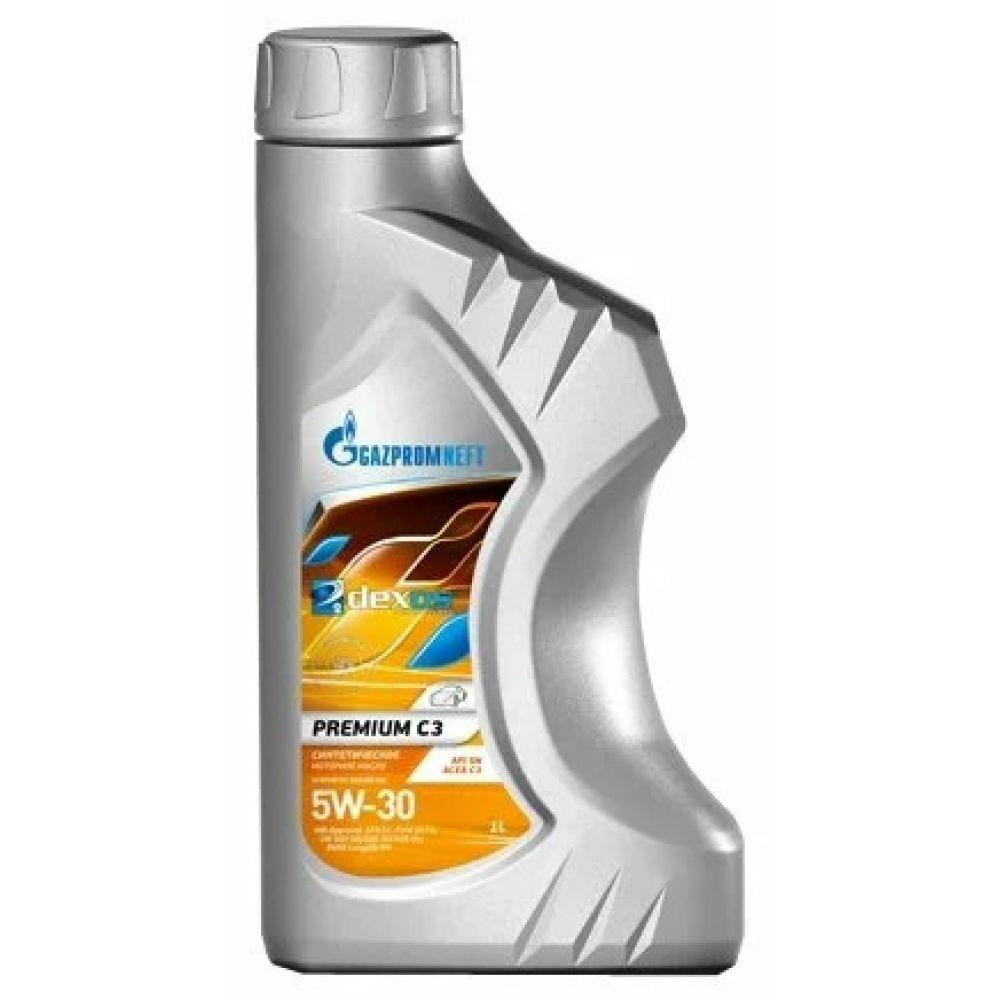 Моторное масло Gazpromneft Premium C3 5W-30, 1л